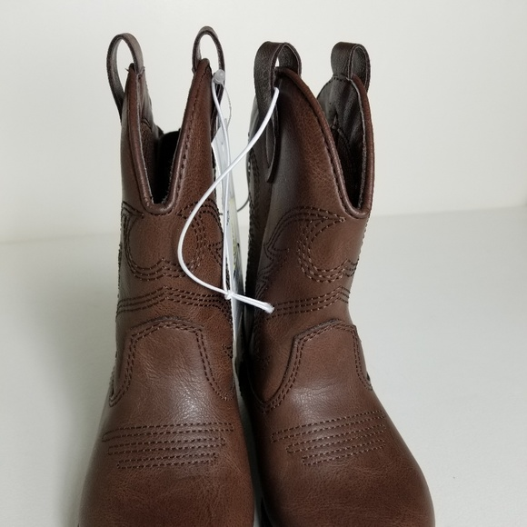 873ea2c61a8 Toddler Boys' Ollie Western Cowboys Boots Cat & Ja NWT